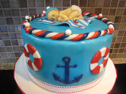 Nautical Theme Babyshower - nautical themed baby shower cake image collections baby shower ideas
