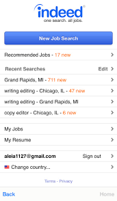 Edit My Indeed Resume Job Hunting Checklist Foxings U0026 Fables