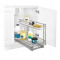 lynk chrome pull out cabinet drawers 20 lowes kitchen cabinets organizers kitchen ideas for small