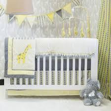 Yellow And Gray Crib Bedding Set Safari Jungle Crib Bedding Sets You Ll Wayfair
