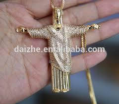 jesus hip hop necklace images Jesus christ hip hop bling men fashion design simple gold chain jpg
