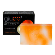 Gluta Soap glupa lightening soap with glutathione papaya plus vitamins c