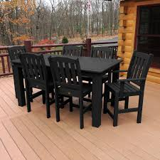 Synthetic Wood Patio Furniture by Masterly Chili Cushion Hampton Bay Fall River Patio Set Also