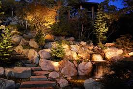 Outdoor Water Features With Lights by Wall And Wash Lighting Ideas And Pictures