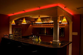 furniture brown wooden bar cabinets for home in a simple design