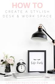 6 desk accessories for an organized and stylish work space