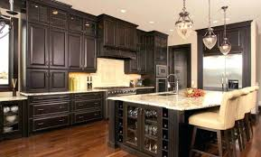 glass tile backsplash with dark cabinets backsplash for dark cabinets gray glass and dark cabinets light