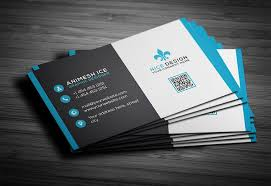 standard business cards horizontal single sided dawolfe