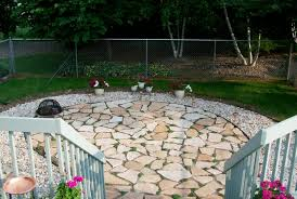 Backyard Flagstone Patio Ideas Floor Flagstone Patio For Decorating Your Porch Floor