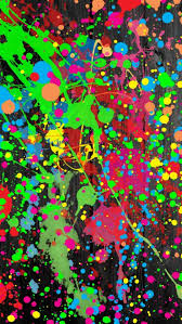 Paint Splatter Wallpaper by Iphone 6 Plus Abstract Wallpaper