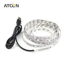 how to power led strip lights dc 5v usb power supply decor rgb led strip light lamp tape smd