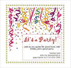 birthday invites outstanding birthday invitation template