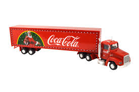 coca cola truck with light up led trailer 1 43 scale