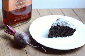 the table chocolate beet cake with bourbon vanilla glaze