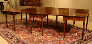 regency period mahogany dining table chappell u0026 mccullar