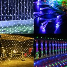 pictures of night lights led net mesh night lights festival decoration house hanging string