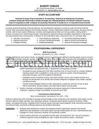 sle resume for senior staff accountant duties resume senior staff accountant resume sle accounting and finance