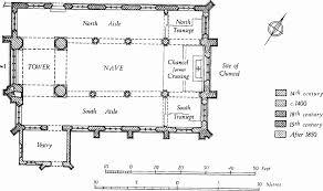 All Saints Church Floor Plans by Parish Church Of All Saints Pavement History
