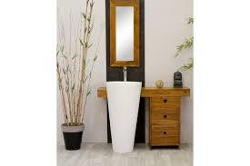 meuble de salle de bain avec meuble de cuisine meuble salle de bain teck osiris simple vasque meubles en teck com