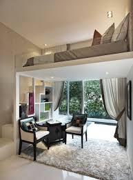 wohnzimmer gestalten ideen die kleine wohnung einrichten mit hochhbett freshouse