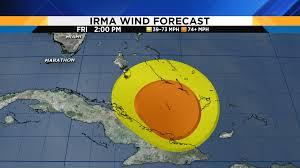 Map Of Marathon Florida by Catastrophic Hurricane Irma Takes Aim On Florida