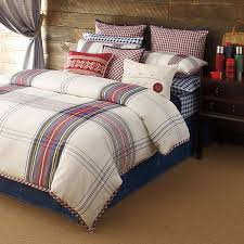 bedding and home decor tartan bedding by tommy hilfiger