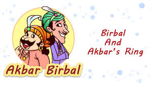 s ring birbal and akbar s ring akbar birbal stories for kids mocomi