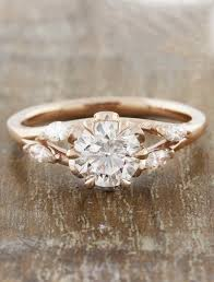 engagement rose rings images Anya nature inspired rose gold engagement ring ken dana design jpg