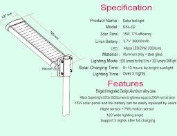 Solar Led Street Lighting by Stand Alone Led Solar Street Lighting System Price Esl 16 Buy