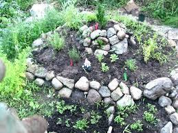 Rock In Garden Rocks For Garden Beds View In Gallery Rocks In Garden Beds