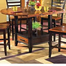 round drop leaf table set steve silver abaco 59 round drop leaf table northeast factory