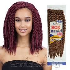 braids crochet freetress synthetic hair crochet braids epic box braid 10