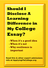 writing about adhd dyslexia learning disabilities in college