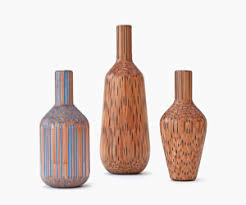 Wicker Vases Wooden Vases Made Out Of Pencils M Jpg