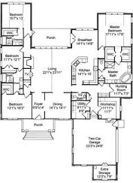 4 bedroom one story house plans floor plan 5 bedrooms single story five bedroom tudor