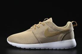 rosh run mens nike roshe run linen brown white on sale