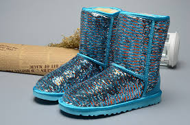womens ugg boots blue sparkles 1002978 boots blue