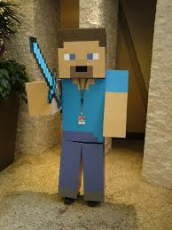 Steve Minecraft Halloween Costume Steve Minecraft Diamond Sword Matt Refghi Flickr