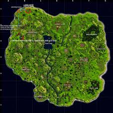 Truck Route Maps You Want A Map Route With Lots Of Loot Here Have It Fortnitebr