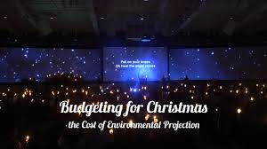 cost of christmas lights christmas budgets the cost of environmental projection