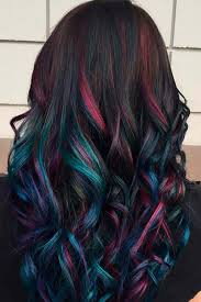 30 rainbow hair looks for brunettes rainbow hair brunettes and