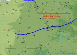 Weather Fronts Map Joe U0027s Weather Blog Ache U0026 Pain Alert Arctic Air Arrives Fox 4