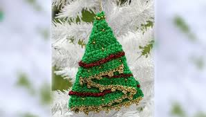 crochet christmas tree decoration knit u0026 crochet christmas
