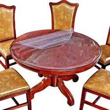clear vinyl table protector crystal clear plastic pvc tablecloth table protector
