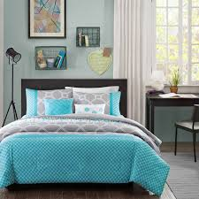 Twin Xl Quilts Coverlets Design Clara Blue Twin Twin Xl Comforter Set Trellis