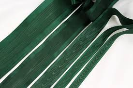 taffeta ribbon moire taffeta ribbon 34 evergreen farmhouse fabrics online shop
