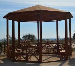 gazebo da giardino in legno prezzi vendita gazebi idee di design per la casa