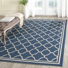 9 X 12 Outdoor Rug by Amazon Com Safavieh Courtyard Collection Cy6918 268 Navy And