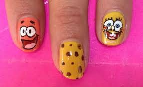 best spongebob nail art photos 2017 u2013 blue maize