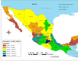 Mexico On The Map by Claurence Can Mexico Map
